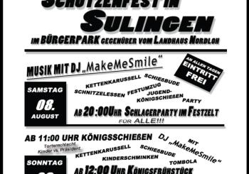 Schützenfest 2015 der Piedelpoggen startet im August